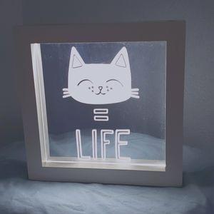 LED Cat = Life Light Box